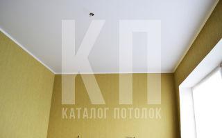 Белый матовый натяжной потолок как выбрать для каких помещений подходит