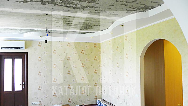 Короб под натяжные потолки