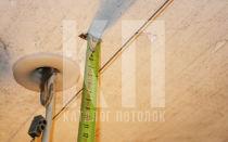 Высота натяжного потолка. Минимальная высота натяжного потолка от потолка