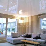 Как зрительно (визуально) увеличить высоту потолка