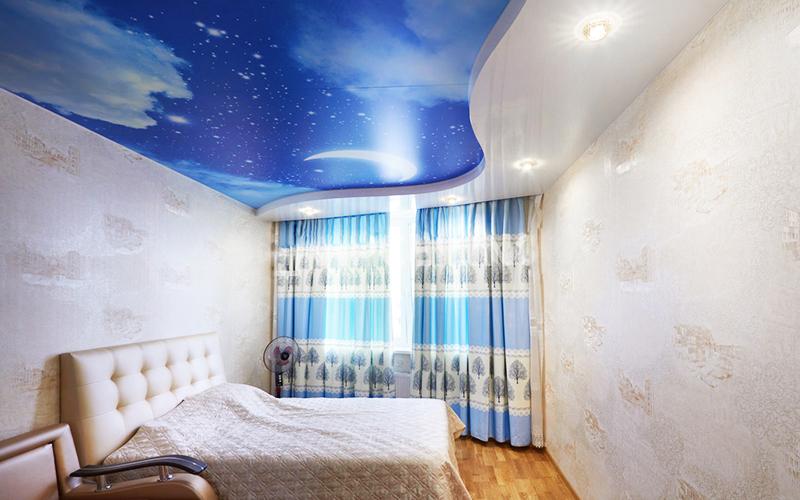 Небо в спальне