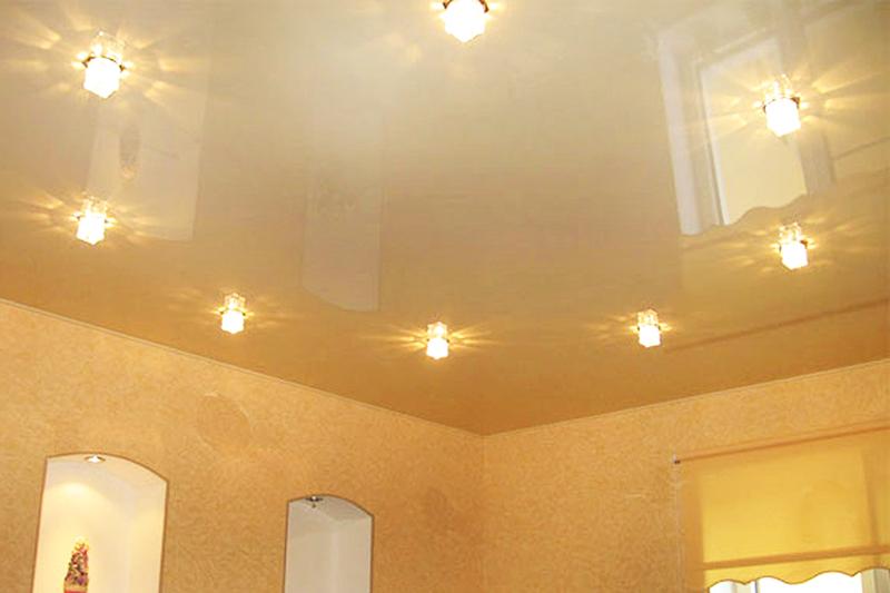 Натяжные потолки и освещение, возможные варианты, преимущества ...   533x800